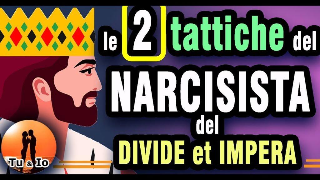 narcisista 2 tattiche